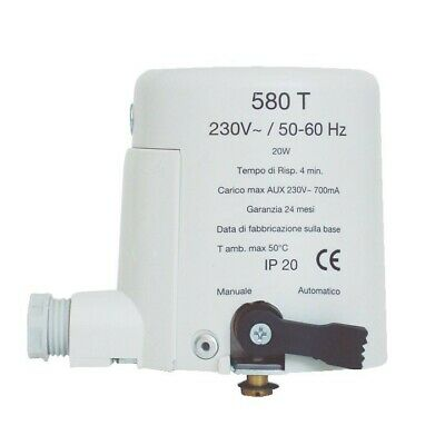 580T Actuator -electric Actuator Normally Open 230V For Valve Area 580T220VX
