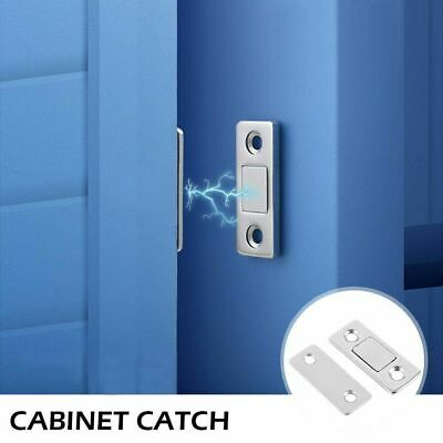 Ultra Thin Strong Magnetic Door Closer Cabinet Catch Latch Cupboard Closer Lock