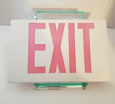 "Exit Sign Cover, Replacement Sign Cover.  11-5/8"" X 7-1/2""."
