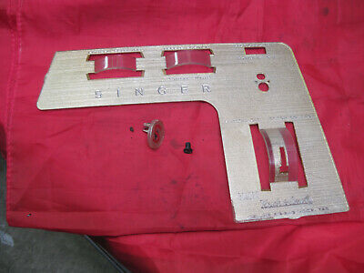 Singer Sewing Machine 750 Golden Touch & Sew Parts Front Face Cover Plate Panel