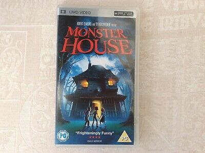 PSP UMD Video Monster House PG Rated