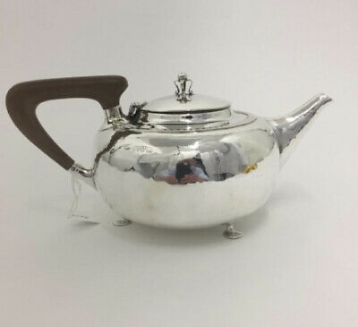 Rare English Silver Teapot Made In Chester