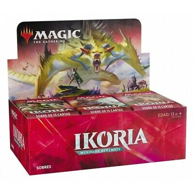 Magic Ikoria, Mundo de Behemoths Caja de sobres