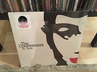 The Courteeners - St. Jude RSD Record Store Day RED Vinyl LP Record RSD LIMITED