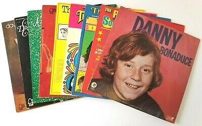 The Partridge Family Vinyl Record Lot of 9 - Danny Bonaduce David Cassidy BELL
