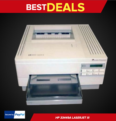 Hp 33449A Laserjet 3 Laser Printer, Brand New, Rare, Fast Shipping