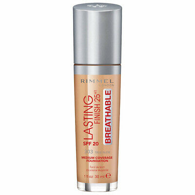 Rimmel Lasting Finish 25hr Breathable Foundation 30ml - 303 True Nude