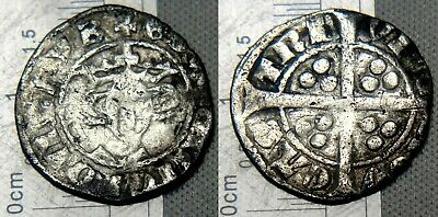 England Edward I 1279-1301 Penny Hammered Silver Coin Newcastle Mint