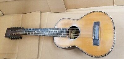 Super Rare 10 String Tiple Guitar 1925 Regal Musical Instrument Co. of Chicago