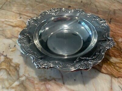 Sterling Silver Candy Dish Gorham #739 NO SCRAP Heart Attack Clearance Auction