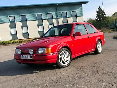 Ford escort RS turbo 88 spec, red, may px, swap,