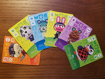 Animal Crossing Amiibo Cards - Series 1 - New Cards, Free US Shipping