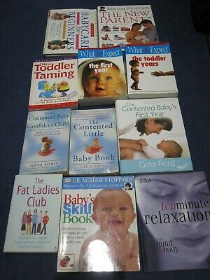 Parenting Books Bundle (9) Variety of Authors