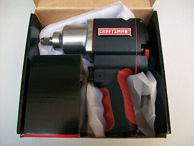 "NEW Craftsman 1/2"" Drive Pneumatic Impact Wrench/Air Driver Tool"