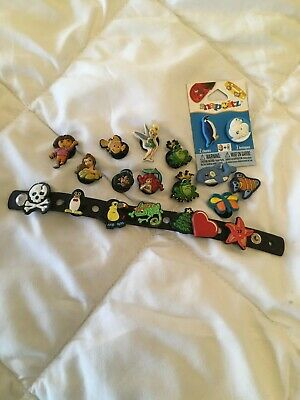 Shoe Charm Button Compatible W/ Croc Hole Fit Jibbitz Disney