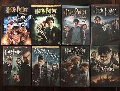 Harry Potter Complete 8 Movie Set