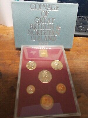 Great Britain & Northern Ireland Official Proof Set 6 Coins 1979 Royal Mint Pack