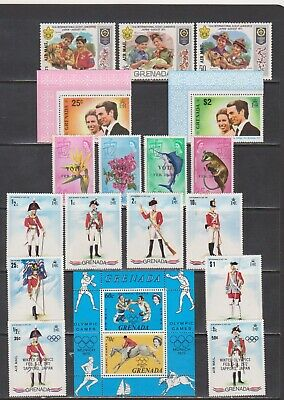 Grenada Mint Collection of 1970's Sets & Singles