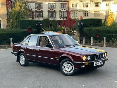 E30 1985 Bmw 3 Series 320I 2.0 Petrol 5 Speed Manual 1 Prev Owner Mint Example!