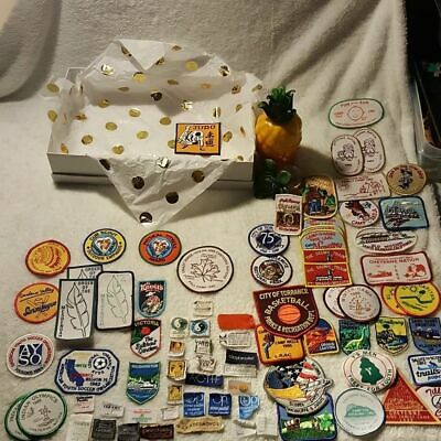 Giant Vintage 1980s Patch Collection