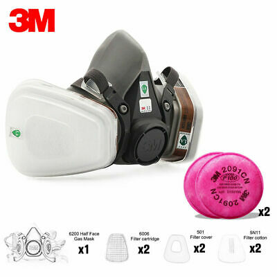 9in1 Suit Painting Spray Same For 6800 Gas Mask Full Face Facepiece Respirator