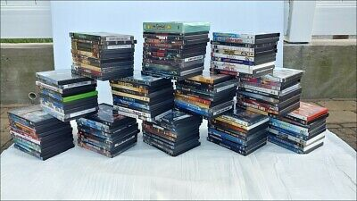 Lot of 121 Used DVD Movies + 1 Duplicate - NO Reserve!
