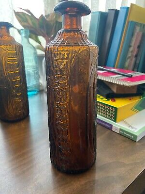 Warner's Tippecanoe Bottle, Dark Amber, Great Condition