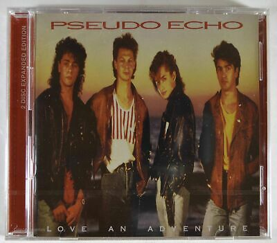 CD [New] PSEUDO ECHO - Love An Adventure (Cherry Red Uk)