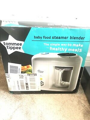 Tommee Tippee Baby Food Steam Blender, White