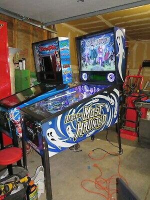 America's Most Haunted Arcade Pinball Machine..Excellent Condition