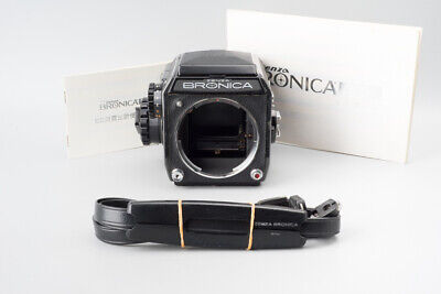 Zenza Bronica EC Medium Format Camera w/ Waist Lever Finder & 6x6 Roll Film Back