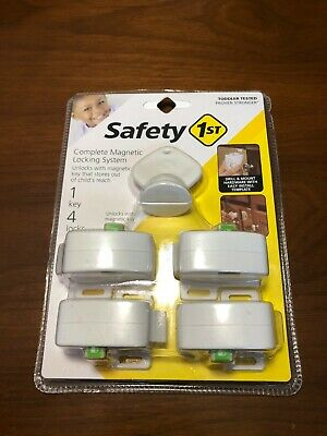 HS132 Safety 1st Complete Magnetic Locking System HS132, New in pkg