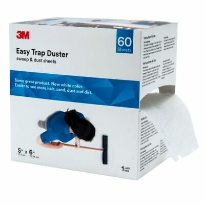 """3M Easy Trap Duster Sweep And Dust Sheets, 5"""" x 6"""" x 30', 60 Sheets"""
