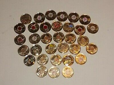 Canada Commemorative Specialty Quarters Lot All Coloured  33 Total    Poppy