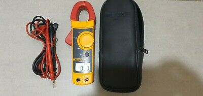 Fluke 321 Digital CLAMP Meter With Leads and Case