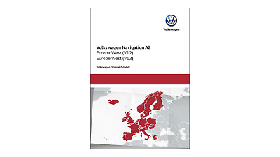 "Original VW Navigations-Update für RNS 315, ""AZ Europa West"" (V12), SD-Karte"