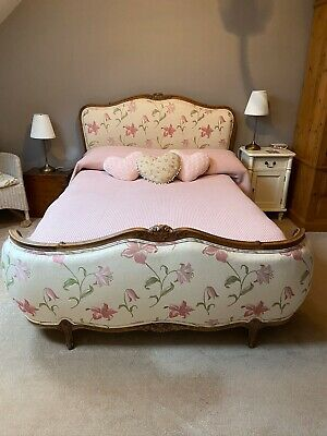 Beautiful Louis XV Vintage French Double  Bed