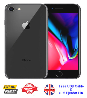 Apple iPhone 7 32GB 128GB 256GB Unlocked, Various Colours, Refurbished
