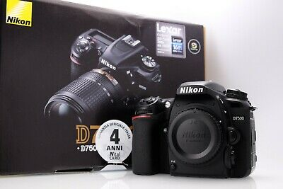 Nikon D7500 Body in Mint Condition Wiith Packaging Shutter Count 20889