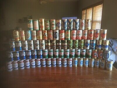 81 Beer 🍺 Can Collection-Lot/ All International Sweet Check Em Out