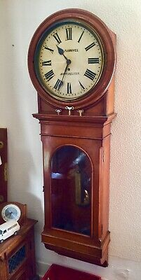 Antique c1880s Single Regulator Long Case Wall Clock Collection Lincoln