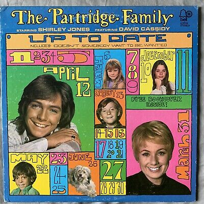 The Partridge Family Up To Date Vtg Vinyl Record Bell 6059 David Cassidy