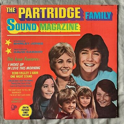The Partridge Family Sound Magazine Vtg Vinyl Record Bell 6064 David Cassidy