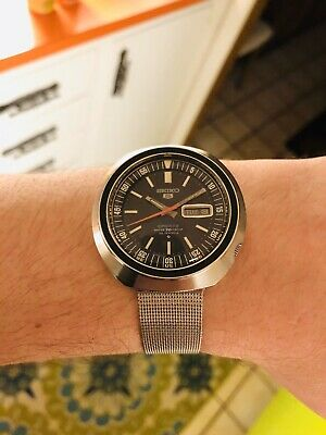 1969 Seiko Men's Automatic Watch 70M Diver UFO Sushi Roll Serviced Proof Grand