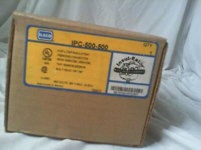 ILSCO IPC-500-500 KUP-L-TAP Insulation Piercing Connector - Factory Sealed