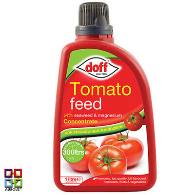 Doff ® Liquid Tomato Feed Fertiliser Seaweed & Magnesium Concentrate For Strong
