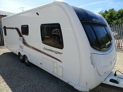 Swift Challenger 620 2011 4 Berth Twin Axle Touring Caravan with Motor Mover