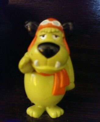 "hb Muttley PVC 3"" TOY Hanna Barbera Wacky Racers wb store figure vintage '98"