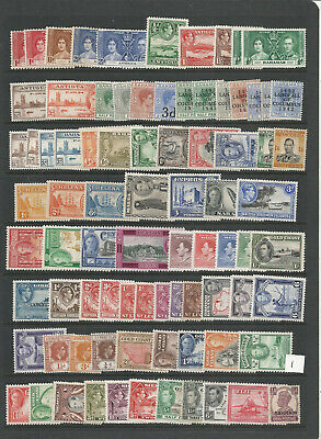Commonwealth Kgvi M/Mint Stamps Job Lot 1