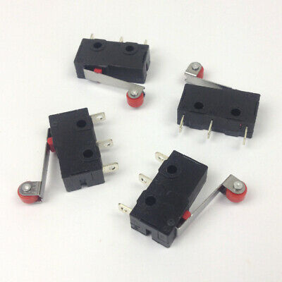 5x Micro Limit Switch Roller type 250V 5A N/O N/C for CNC Machine & 3D Printer